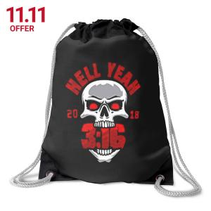 11 Stone Cold Hell Yeah Drawstring Bag On Sale