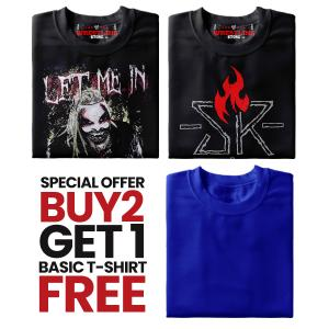 Combo 5 Special Offer Buy 2 Get 1 Basic T Shirt FREE