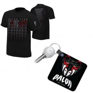 Combo Deal - Fin Balor Wrestling T Shirt with Key chain