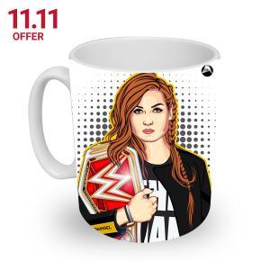 11.11 Becky Lynch Fan Club Limited Edition Coffee / Tea Mug