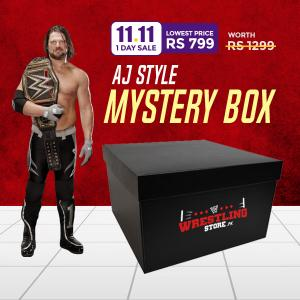 11 Pay 11 - AJ Styles Mystery Box Offer