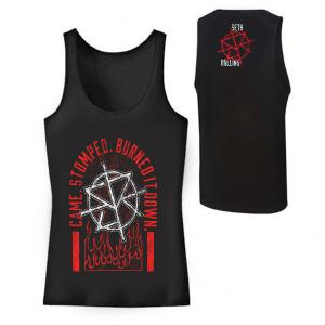 Seth Rollins Came Stomped Burned it Down Tank Top