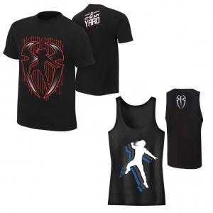Combo Deal - Roman Reigns T Shirt with Gym Tank Top