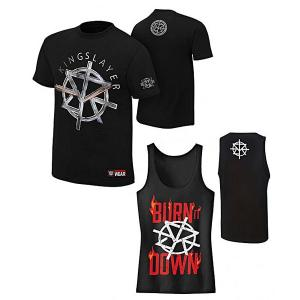 Combo Deal - Seth Rollins T Shirt with Gym Tank Top