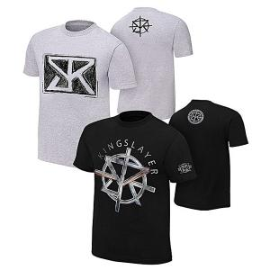 Pack of 2 Deal - Seth Rollins Cotton Printed T Shirts