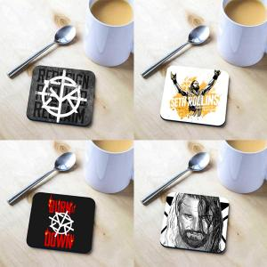 Combo Deal - Pack of 4 Seth Rollins Official Tea Coasters