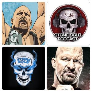 Pack of 4 Stone Cold Artistic Tea Coasters