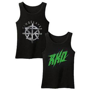 Pack of 2 - RKO and Seth Rollins Cotton Printed Tank Tops